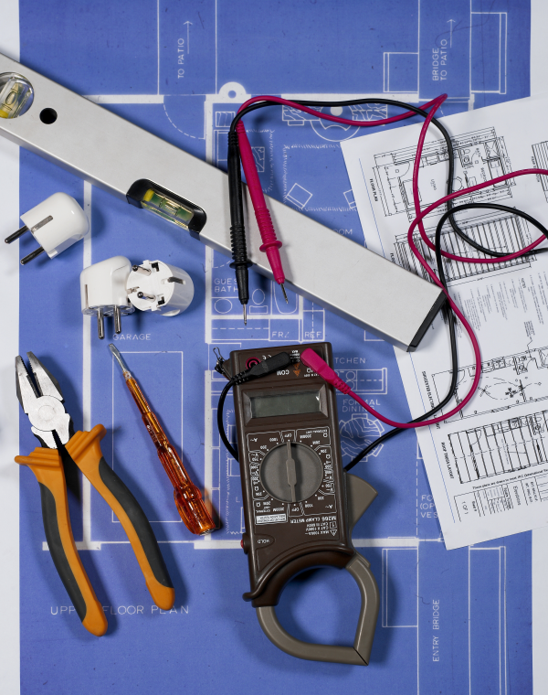 installing electrical components