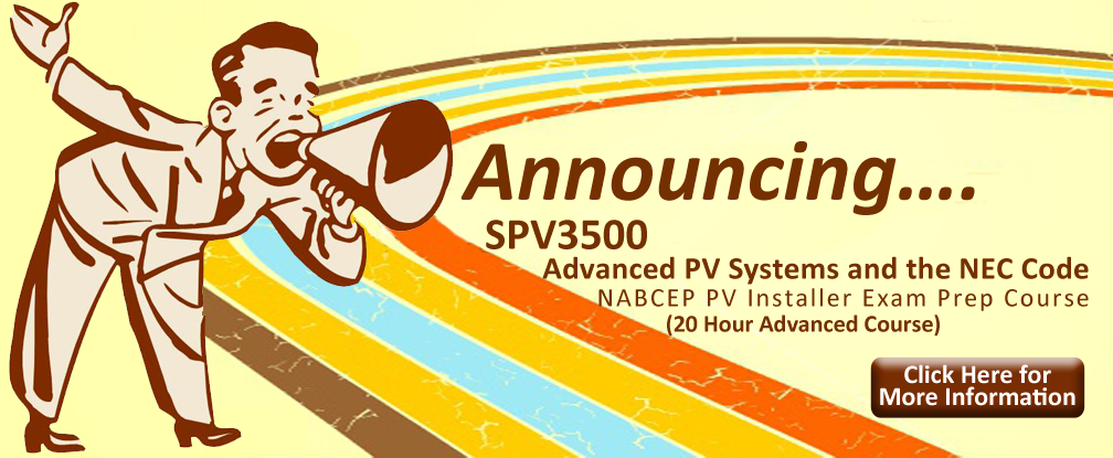 NABCEP PV Installer Exam Prep